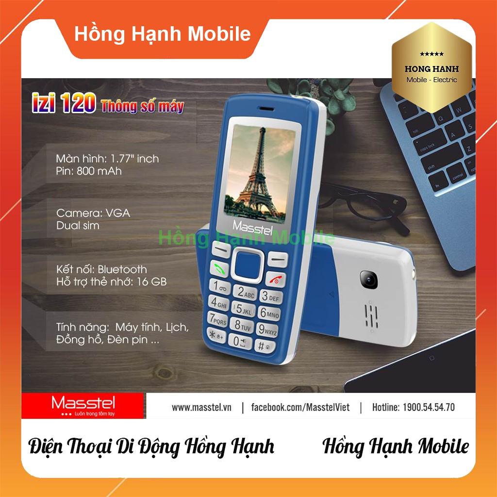 Điện Thoại Masstel iZi 120 - Hàng Chính Hãng - Hồng Hạnh Mobile