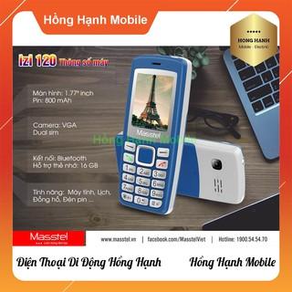 Hình ảnh Điện Thoại Masstel iZi 120 - Hàng Chính Hãng - Hồng Hạnh Mobile-4