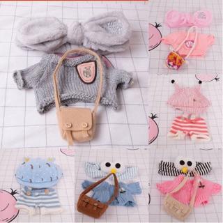 Set quần áo phụ kiện cho gấu vịt 30cm