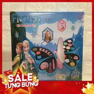 Bộ đồ chơi trang điểm sơn móng tay Frozen cho bé -Hàng nhập khẩu