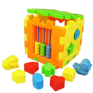 Baby Educational Toy Bricks Matching Blocks Intelligence Sorting Box