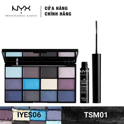 Bộ đôi Phấn mắt 12 ô & Chuốt mi NYX Professional Makeup (IYESP06 + TSM01) _ TUNX00030CB - 3512936 , 1307089379 , 322_1307089379 , 1240000 , Bo-doi-Phan-mat-12-o-Chuot-mi-NYX-Professional-Makeup-IYESP06-TSM01-_-TUNX00030CB-322_1307089379 , shopee.vn , Bộ đôi Phấn mắt 12 ô & Chuốt mi NYX Professional Makeup (IYESP06 + TSM01) _ TUNX00030CB