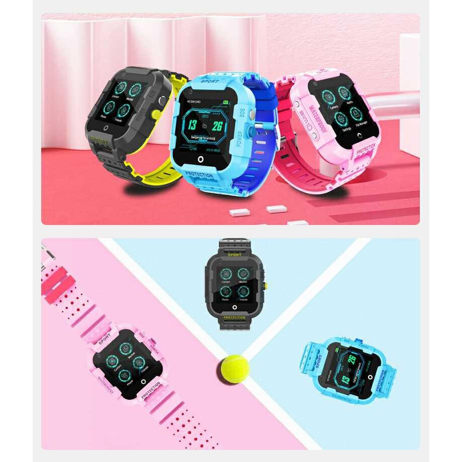 Đồng hồ định vị trẻ em Wonlex KT12 - Nghe gọi 2 chiều, Video Call