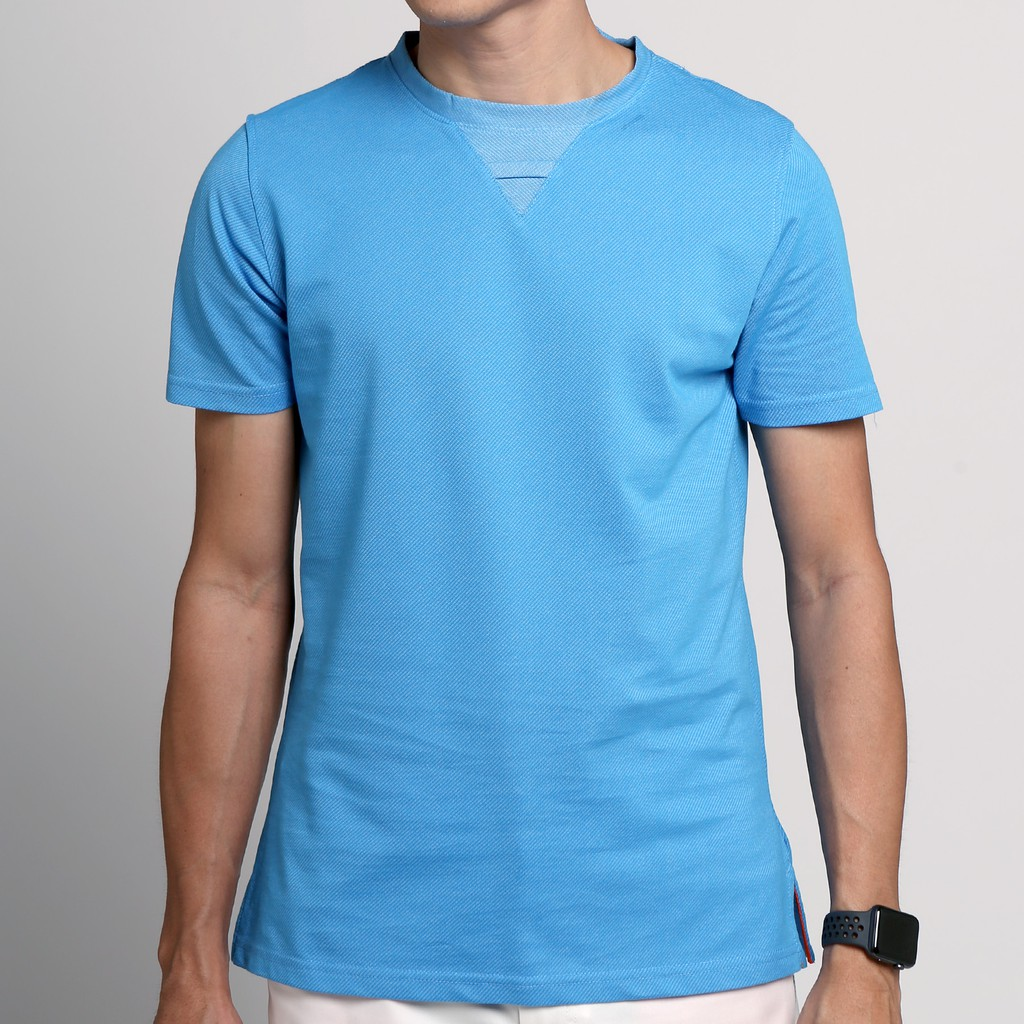 Friday People เสื้อยืด Dry Tee - Blue