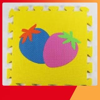 Sale Set 4 bộ thảm gồm bộ hình học + bộ trái cây + PTGT + Trơn Tốt