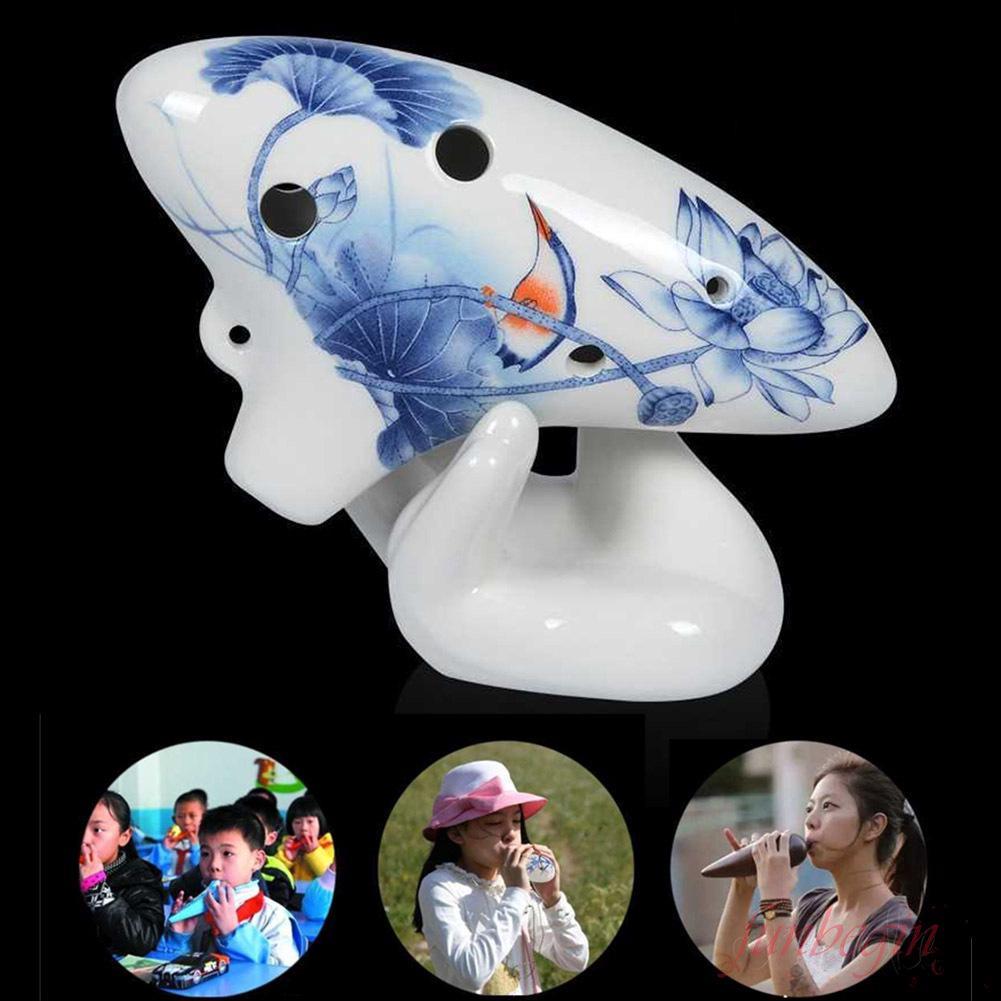 [FB] Ocarina 6 Holes Submarine Ceramic Musical Instrument Gift Professional For Beginner