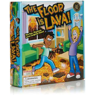 The Floor is Lava – Interactive Game for Kids and Adults – Promotes Physical Activity