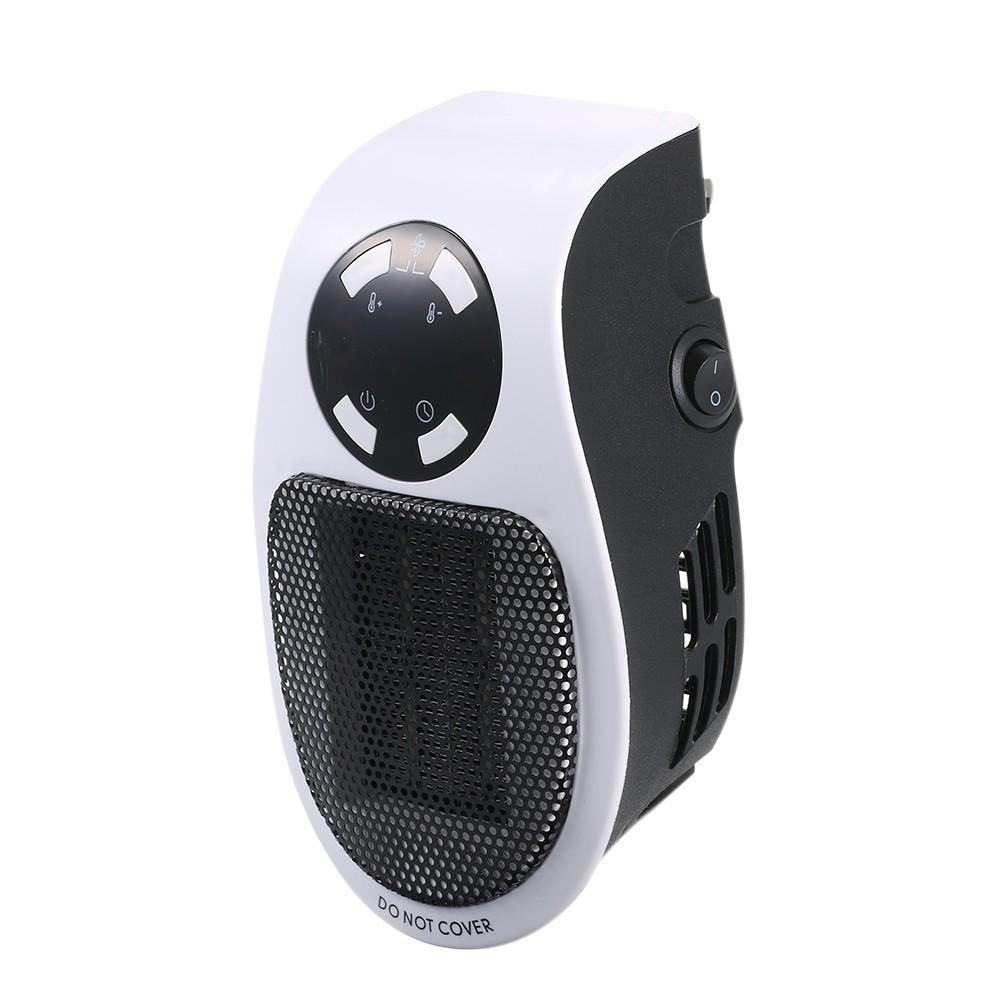 Kiyomi Mini Portable Electric Heater Warm Fan Blower Small PTC Heater Home Office 500W Winter Warmer Heating Machine wit