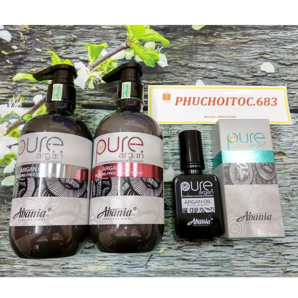 Bộ gội xả + tinh dầu abania pure dưỡng chất phục hồi 500ml 50ml - 2946724 , 1035159778 , 322_1035159778 , 1580000 , Bo-goi-xa-tinh-dau-abania-pure-duong-chat-phuc-hoi-500ml-50ml-322_1035159778 , shopee.vn , Bộ gội xả + tinh dầu abania pure dưỡng chất phục hồi 500ml 50ml