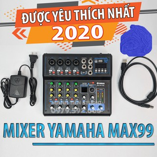 Bàn Mixer trộn tích hợp vang số MAX 99 USB - 16 chế độ vang - Hỗ trợ livestream thumbnail