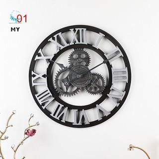 Đồng hồ treo tường kiểu dáng cổ điển độc đáo phong cách