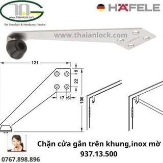 Chặn cửa gắn trên khung,inox mờ 937.13.560