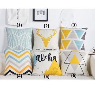 Gối tựa lưng sofa set aloha (vỏ gối không kèm ruột) thumbnail