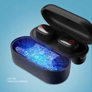 [BẢO HÀNH 6 THÁNG] Tai nghe V20 TWS wireless bluetooth 5.0 earbuds