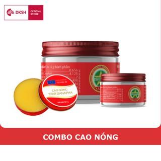 Combo Cao nóng Cao sao vàng 3G &16G&30G STAR DANAPHA thumbnail