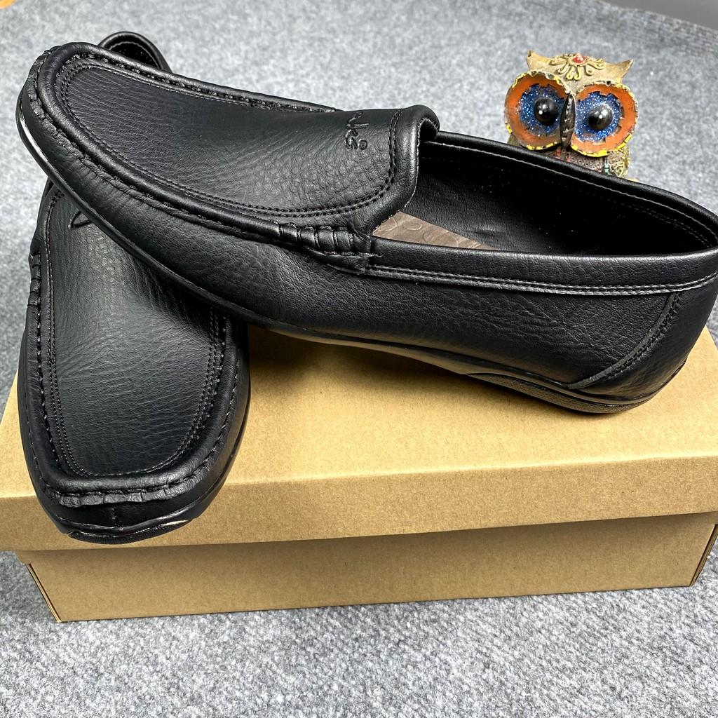 Giày Tây, Giày Lười Nam DA BÒ Cao Cấp may chỉ vừa sang vừa mềm mang không bi đau chân [bảo hành 12 tháng].