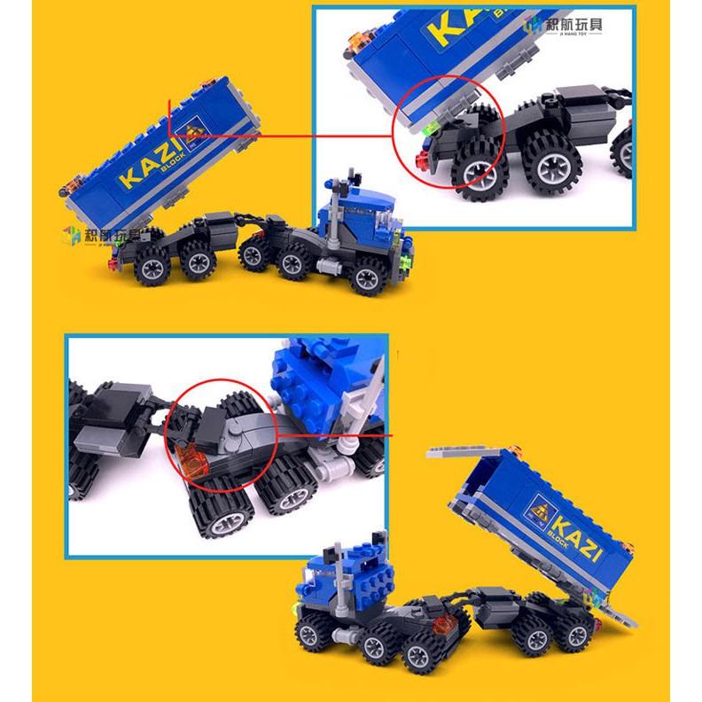 Đồ Chơi Lắp Ráp Xe Truck 4 Trong 1