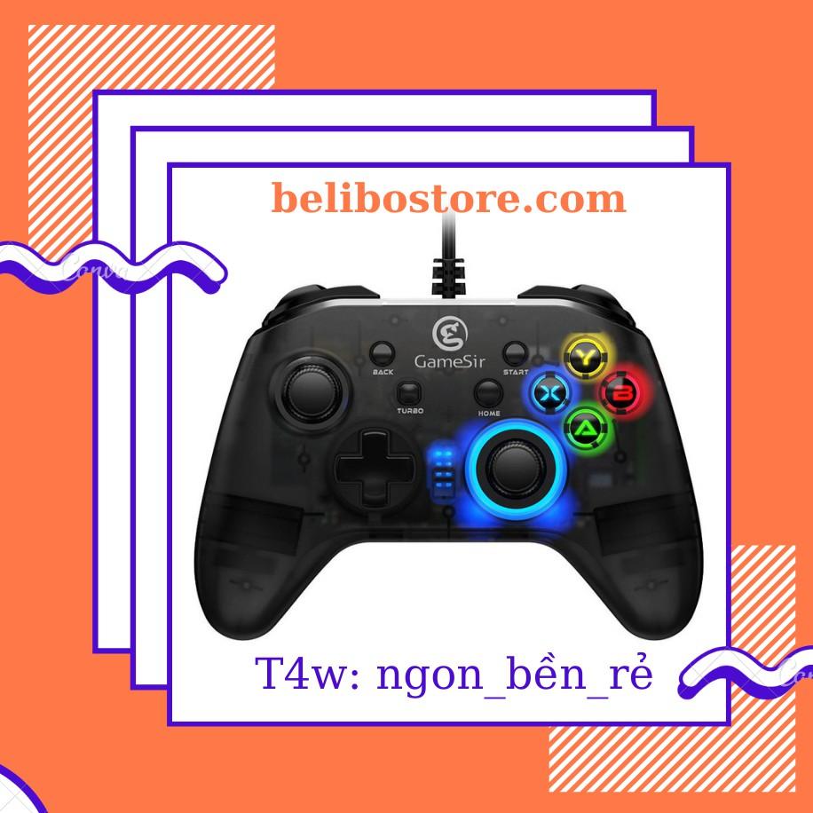 Tay cầm chơi game T4w giá rẻ chất lượng tốt - Đảm bảo Chính hãng gamesir - Sản xuất mới nhất