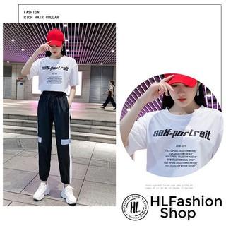 Áo croptop thun nữ Salf Portrair cực cool Hàn Quốc, áo thun nữ HLFashion thumbnail
