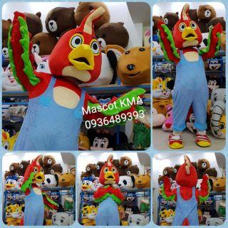 Quần áo hoá trang Mascot Chim Thổ Nhĩ Kỳ – sinh nhật, sự kiện