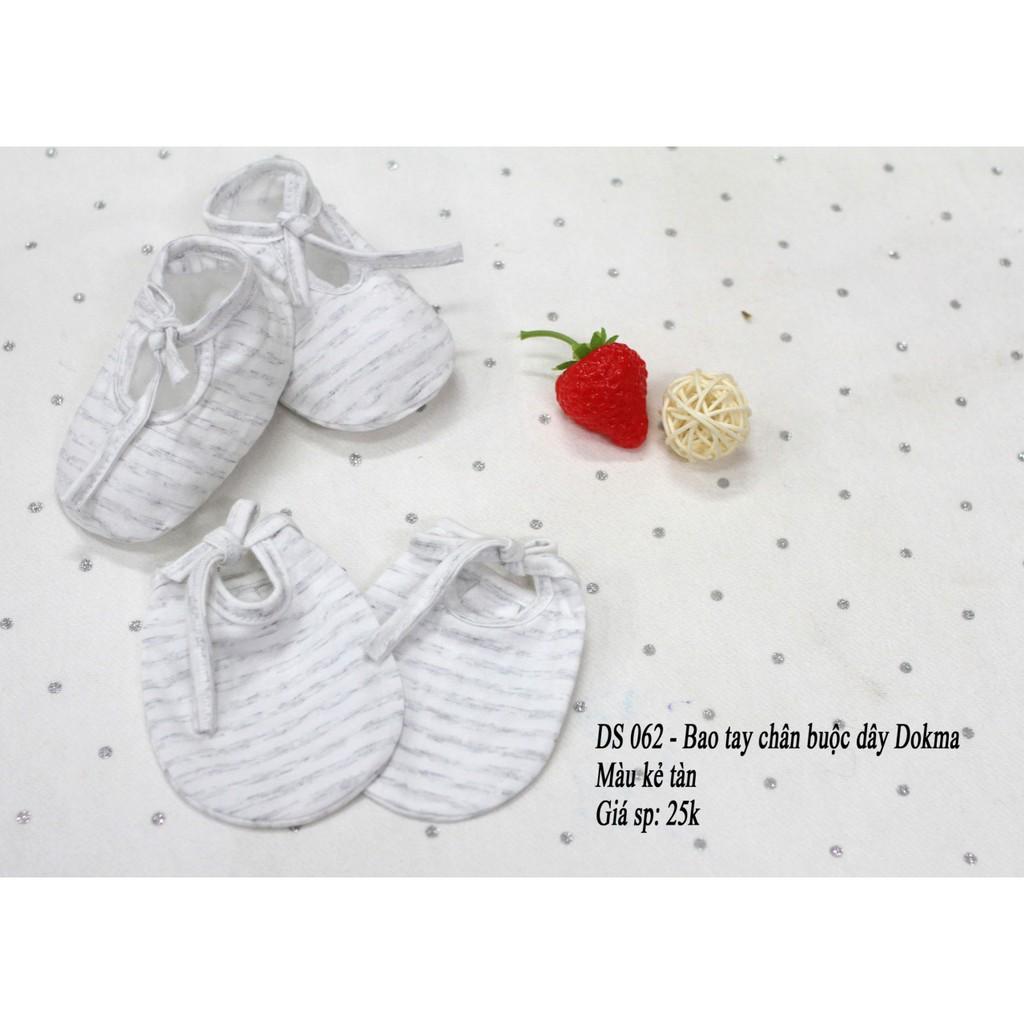 Dokma - Bao chân tay buộc dây trẻ sơ sinh