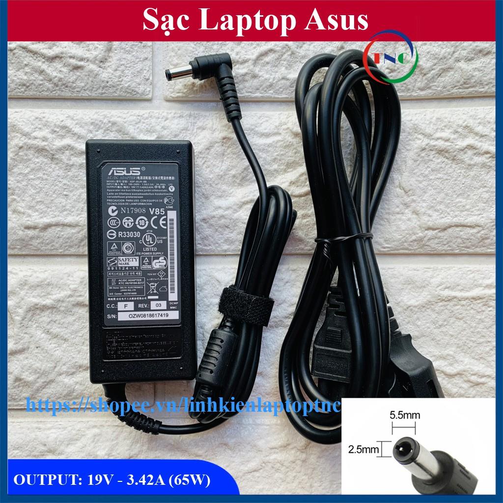 Sạc Laptop Asus 19V – 3.42A – 65W (ADAPTER ASUS 19V-3.42A)