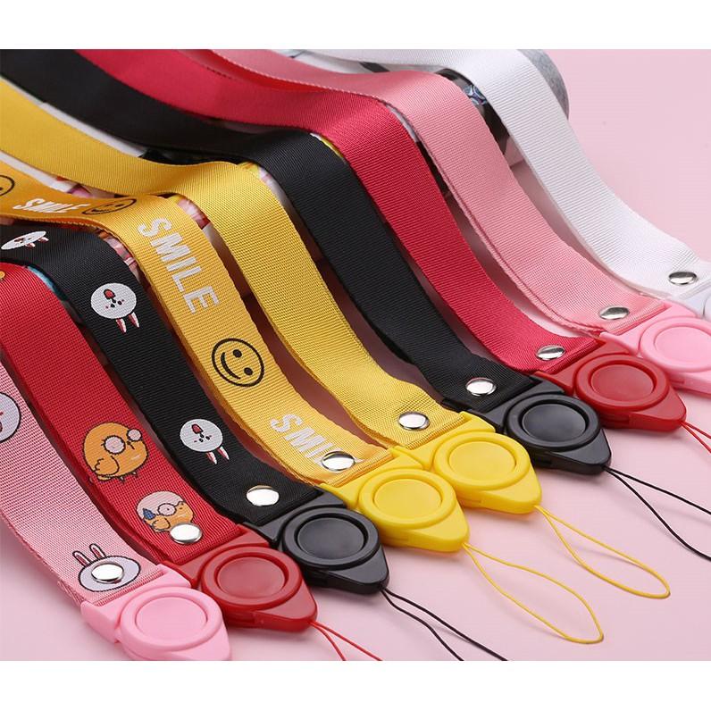 Dây treo điện thoại 40cm, dây treo gắn vỏ ốp điện thoại nhiều màu sắc
