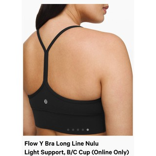Flow Y Bra Nulu Light Support, B/C Cup-Blac