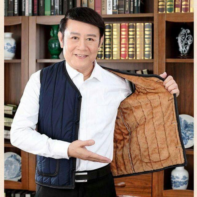 Áo khoác gile hàng Trung Quốc danh cho các ông, các bố, áo dày và ấm, bên trong có lot một lớp lông,  giá lại còn rất rẻ - Áo khoác gile hàng Trung Quốc danh cho các ông, các bố, áo dày và ấm, bên trong có lot một lớp lông,  giá lại còn rất rẻ