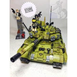 LEGO Xingbao 06015 Lắp Ráp Xe Tăng Tiger ( 1386 Mảnh )