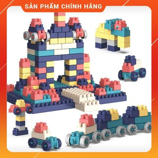 Bộ đồ chơi xếp hình tăng tư duy sáng tạo cho bé 260 mảnh
