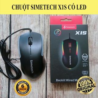 Chuột Simetech X1S LED USB thumbnail