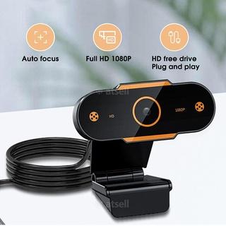 2K Webcam Full HD 1080P Web Camera cho máy tính Webcam USB có micrô Webcam tự động lấy nét thumbnail