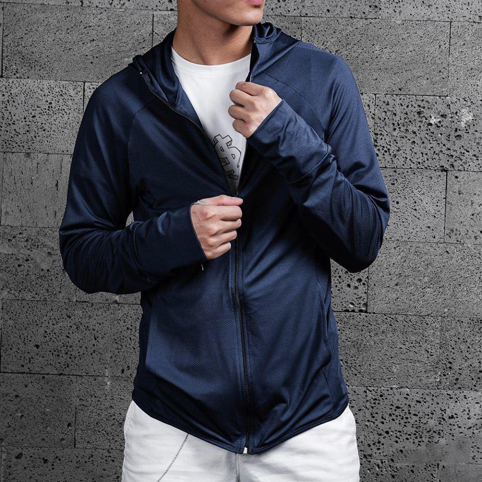 Áo chống nắng nam , áo khoác đi nắng chất mát cực đẹp