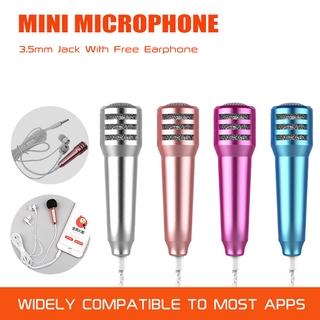 Micro Cầm Tay Có Dây Đầu Cắm 3.5mm Cho Điện Thoại, Laptop, Pc