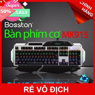 Bàn Phím Cơ Bosston MK915 Blue Switch -LED