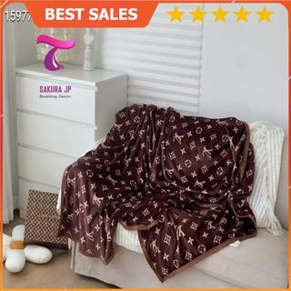 [RẺ VÔ ĐỊCH] Chăn Tuyết Nhung Điều Hòa - Chăn Tuyết Văn Phòng - Chăn Tuyết Sofa Đẳng Cấp Sakura JP Bedding thumbnail