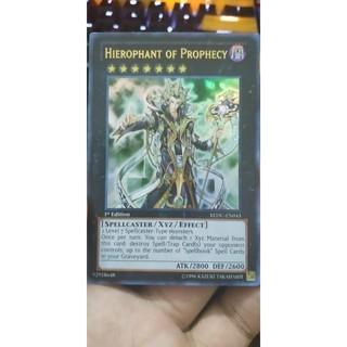 REDU-EN045 Hierophant of Prophecy Ultra Rare 1st Edition thumbnail