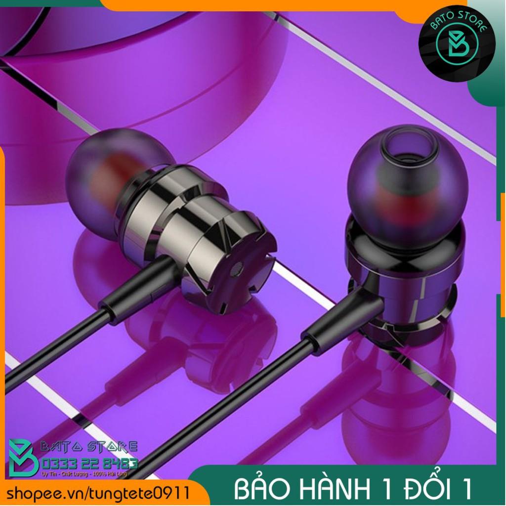 Tai Nghe In-Ear Headphones Turbo MS-022 Chính Hãng Siêu Bass vỏ Kim loại.