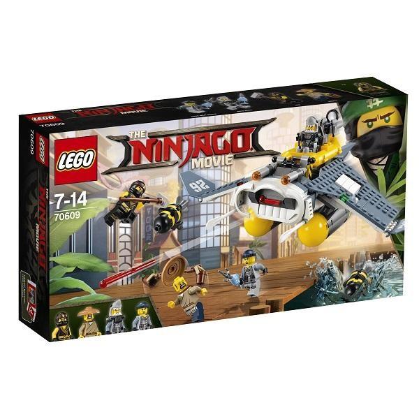 Máy Bay Ném Bom Chiến Đấu Lego Ninjago - 70609 (341 Chi Tiết)