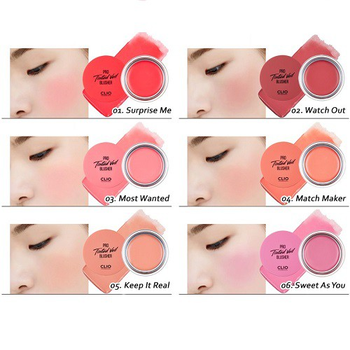 Image result for Clio Má hồng trang điểm Pro Tinted Veil 01 Surprise Me 4,5g