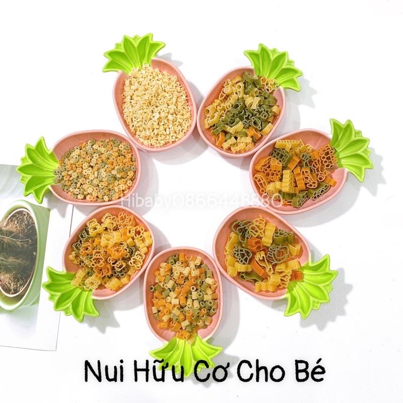 Nui Sao, Nui Chữ Trứng, Rau Củ Hữu Cơ 100G - 250G Cho Bé - Nui Chữ Số (50G) thumbnail