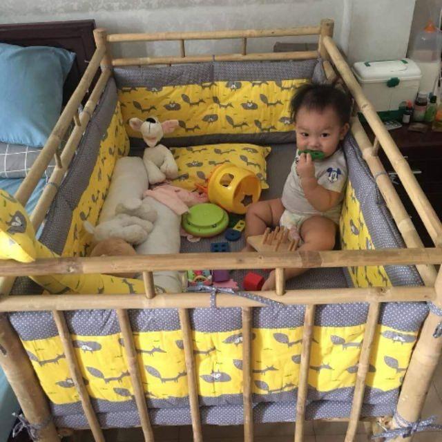 Cũi cho bé tp HCM  freeship 5km
