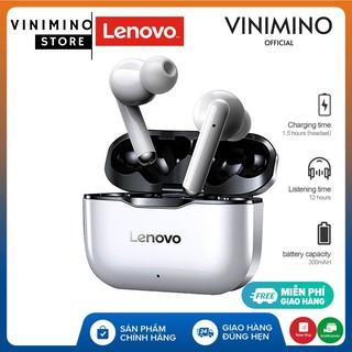 Lenovo LP1 Tai nghe nhét tai không dây Lenovo LivePods LP1 TWS Bluetooth 5.0 - Hàng chính hãng