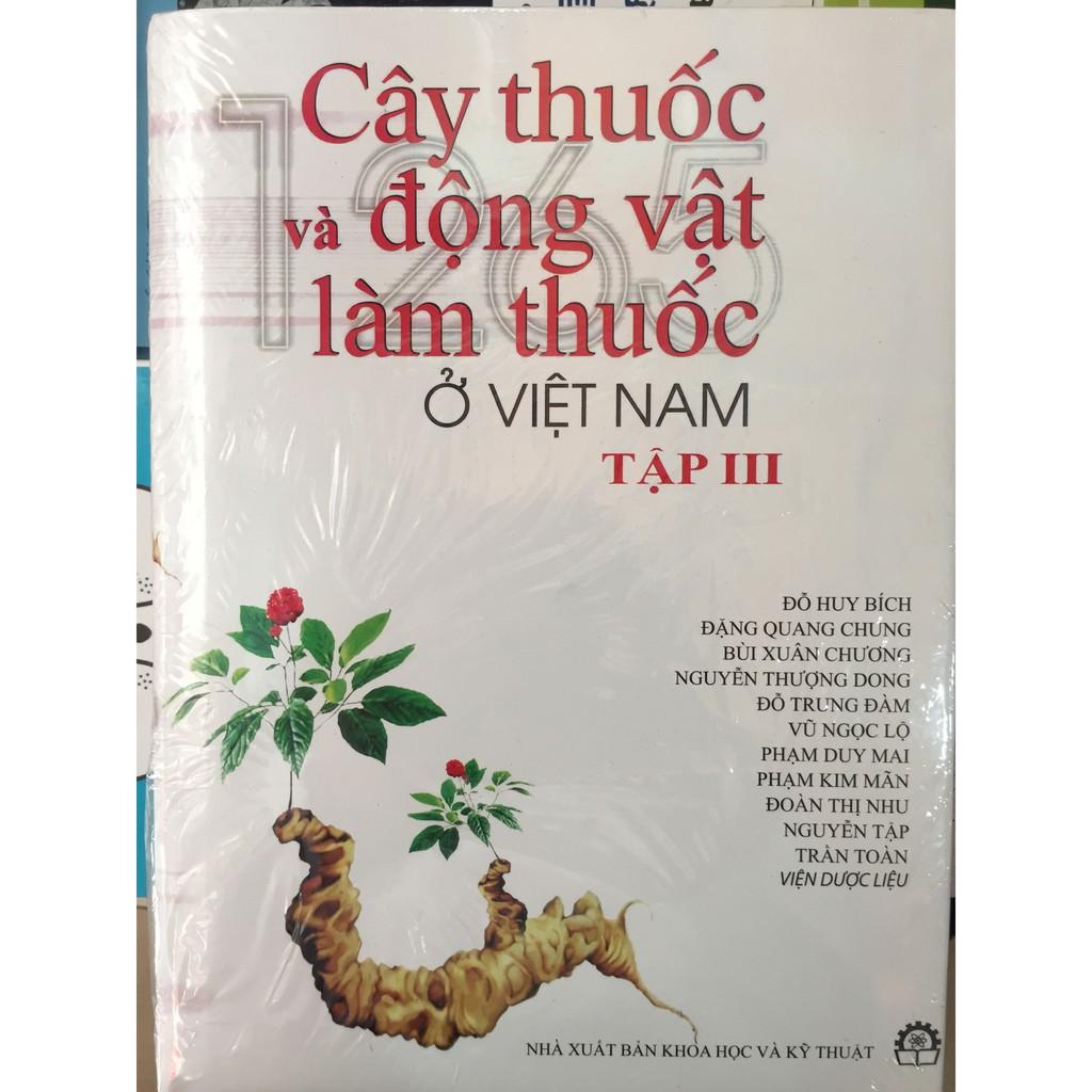 Sách - Cây thuốc và động vật làm thuốc ở Việt Nam tập 3