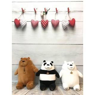 Gấu bông We are bears 25cm ( Chúng tôi đơn giản là Gấu – Ba chú Gấu )