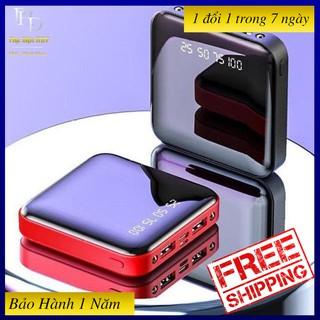 [RẺ VÔ ĐỊCH] ]Pin sạc dự phòng sạc nhanh, giá rẻ, chính hãng Mini-HUNGDP