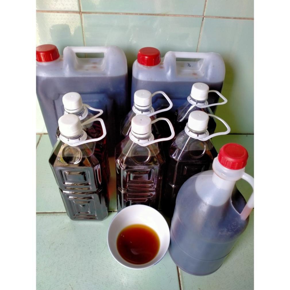 Nước mắm Cốt nhĩ nguyên chất 40độ đạm Phú Quốc 850ml/1chai(Mắm cốt nguyên chất thơm ngon)