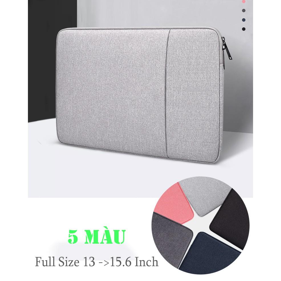 Túi Chống Sốc Macbook Laptop Cao Cấp 13.3 Inch, 14 Inch, 15 Inch, 15.6 Inch, 16 Inch ( Có Nhiều Size ) - ( 2 Ngăn )
