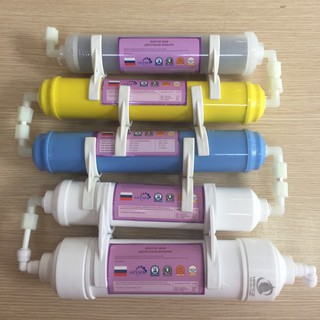 Bộ lõi lọc nước 4-5-6-7-8 máy lọc nước Nano Geyser
